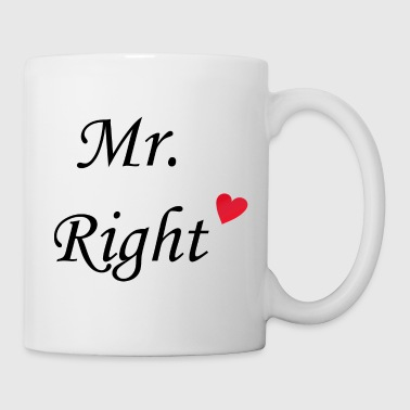 Mr. Right - Tasse