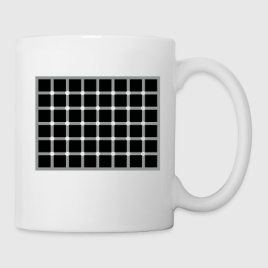 Optical Illusion Blocks - Tasse