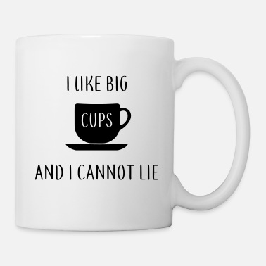 Large Mugs I like big cups buts mug word joke ass gift - Mug