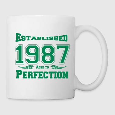 1987 Established - Tasse