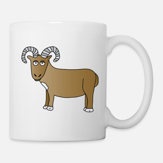 Evolution Mugs & Drinkware - Aries - Mug white