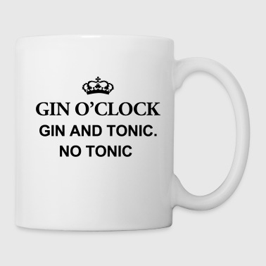 Tonic Gin O'Clock Gin And Tonic. No Tonic - Mug