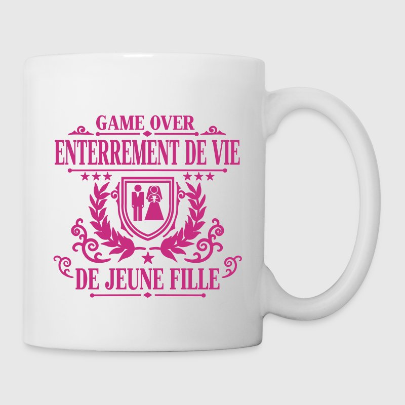 Enterrement de vie de jeune fille - Game Over - Mug blanc