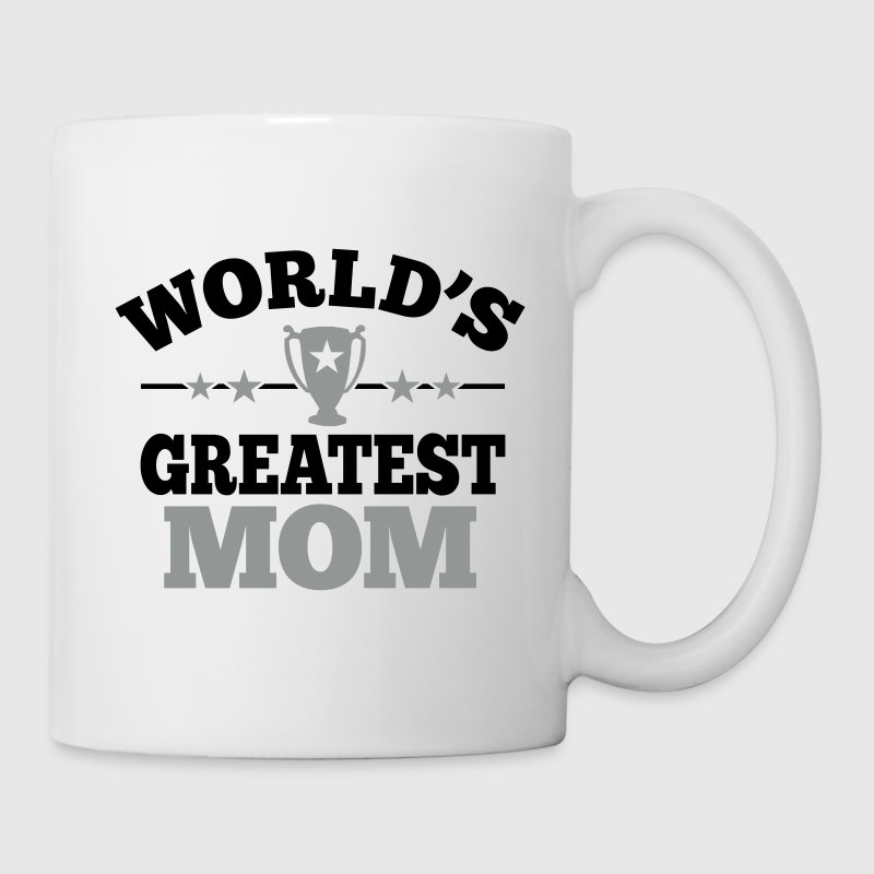 World's greatest Mom - Weltbeste Mama - Muttertag - Tasse