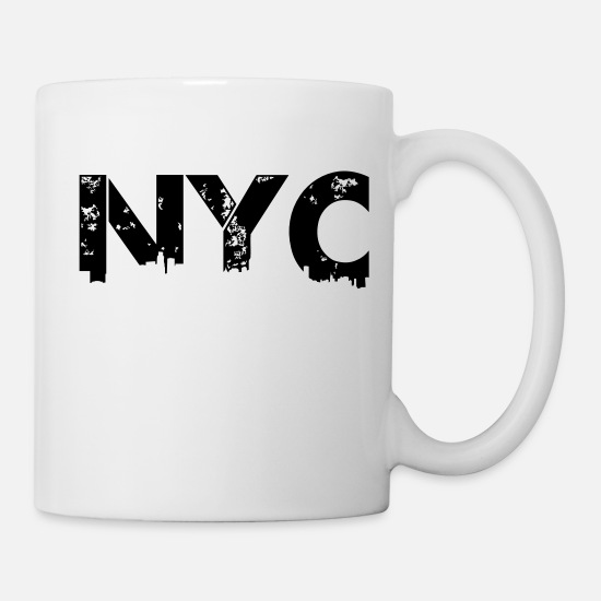 Brooklyn Mugs et récipients - NYC - Mug blanc