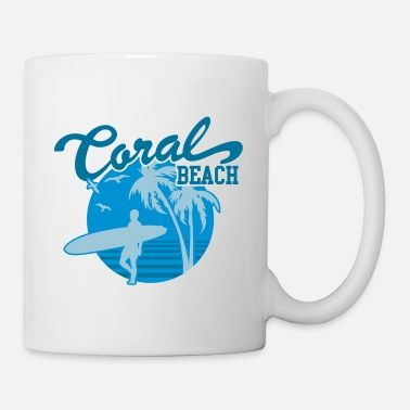 Heaven Coral Beach Surfers Heaven - Mug