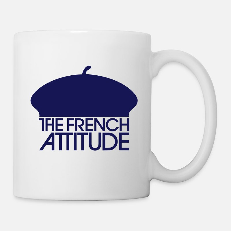 The Mugs et récipients - The French Attitude - Mug blanc