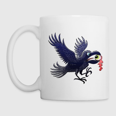Crow Stealing an Eye - Mug