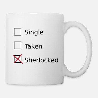 Sherlock Single Taken Sherlocked - Kubek