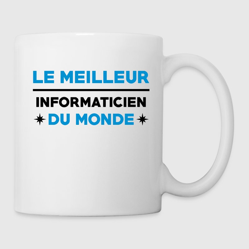 Informatique / Informaticien / DBA / Geek / Gamer - Mug blanc