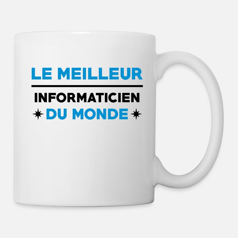 Informatique Mugs et gourdes - Informatique / Informaticien / DBA / Geek / Gamer - Mug blanc