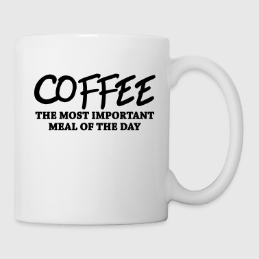 Meal Coffee - the most important meal - Mug