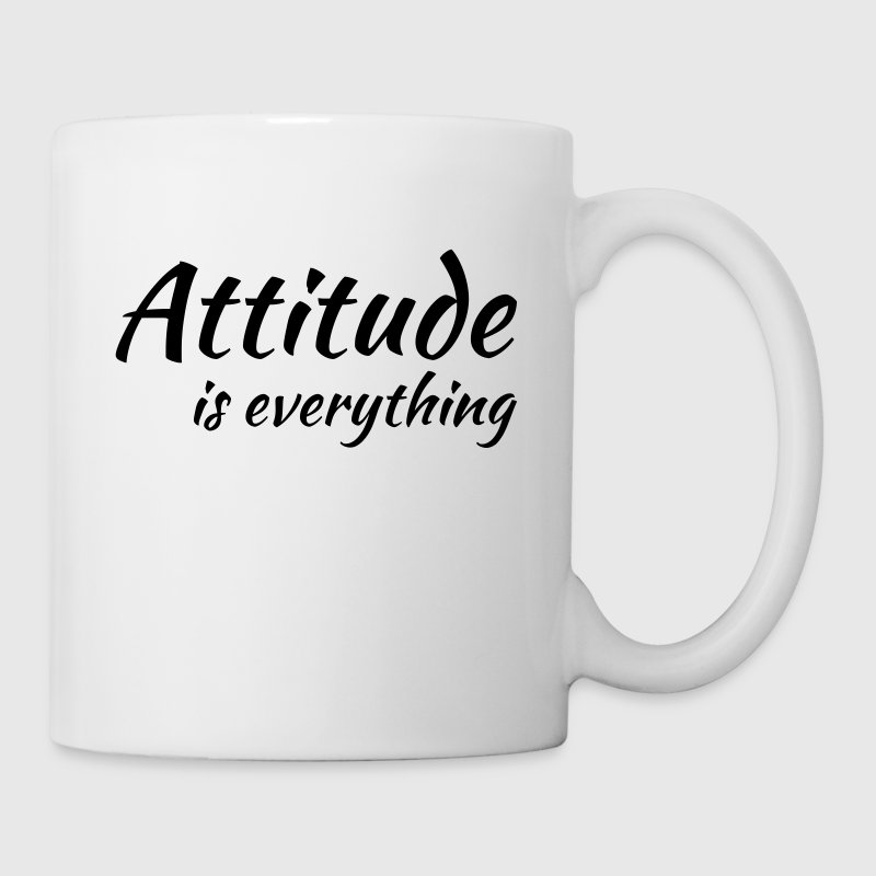 Attitude is everything - Mug