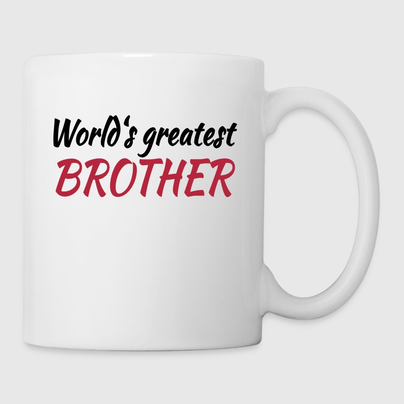 World's greatest brother - Tasse