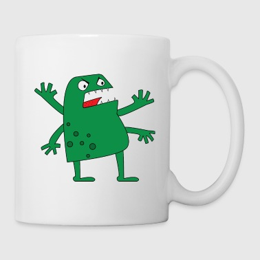 Monster / Monstre / Baby / Bad / Nasty / Evil - Mug blanc