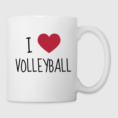 Volleyball - Volley Ball - Volley-Ball - Sport - Kubek