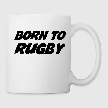 Rugby - Rugbyman - Sport - Fighter - Fight - Mug