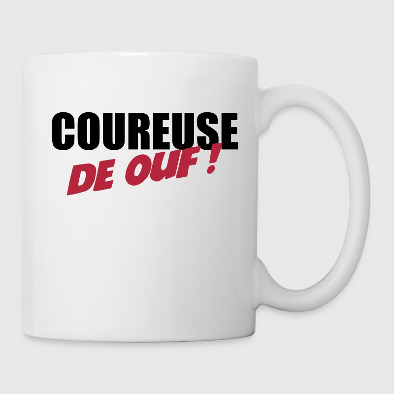 Course à Pied / Running / Jogging / Coureur - Mug blanc