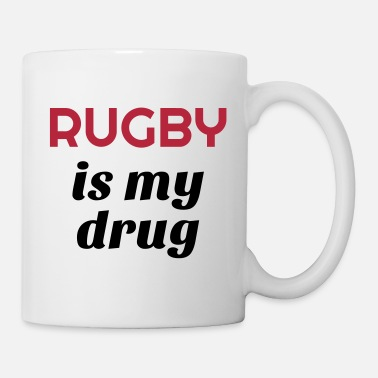 Rugby Rugby / Rugbyman / Sport / Fighter / Fight - Tazza