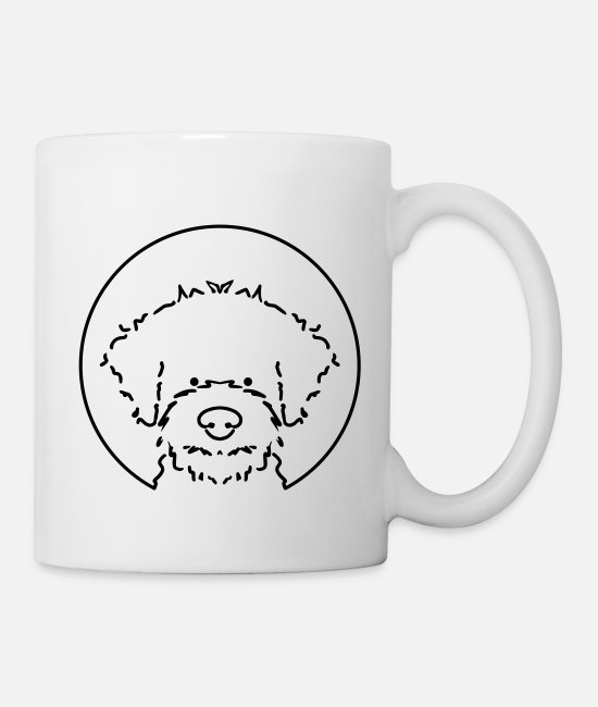 Dog Owner Mugs & Drinkware - lagotto10 6 - Mug white