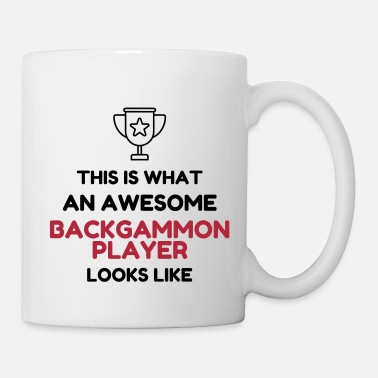 Backgammon Backgammon Game Spiel Jeu Gamer Play - Mug