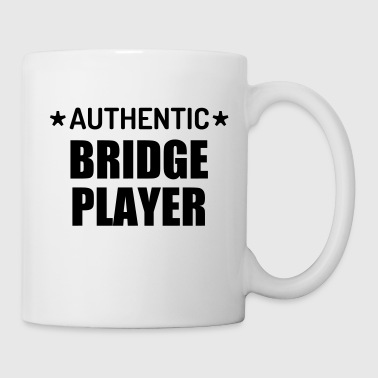 bridge / bridgeur / bridgeuse / cartes - Mug blanc