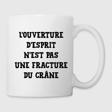 Citation Humour Philosophie Drôle Slogan Comique - Mug blanc