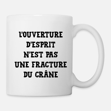 Philosophie Citation Humour Philosophie Drôle Slogan Comique - Mug blanc