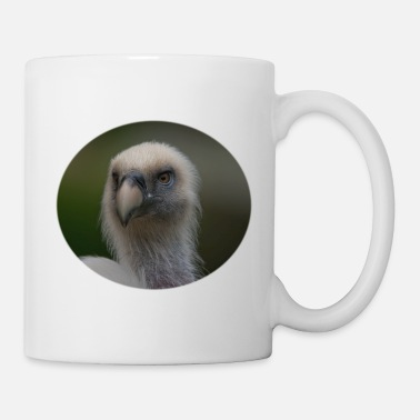 Msvrvisual Face Of A Griffon Vulture - Mug