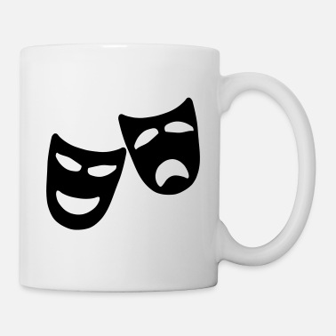 Comedy Tragedy and Comedy - Mug