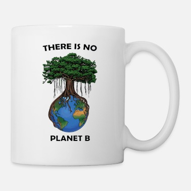 There is no planet b black lettering - Mug