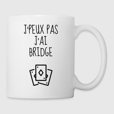 bridge / speler / kaartspel / bordspel - Mok