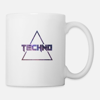 Rave Techno Music House Dance Dj Electronic Gift - Tazza