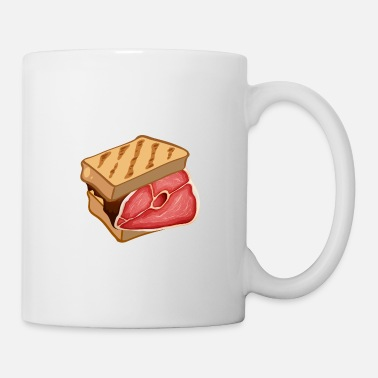 Wolverines Toast with a fat steak best breakfast - Mug