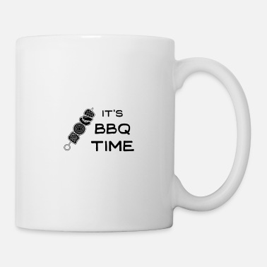 No Meat It's BBQ time - Mug
