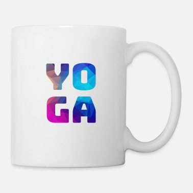 Color Yoga colorful colorful colored - Mug