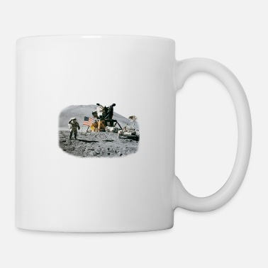 Nasa Moon Astronaut NASA USA Apollo Space - Mug