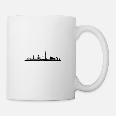Elbe Skyline - Hamburg harbor old town - Mug