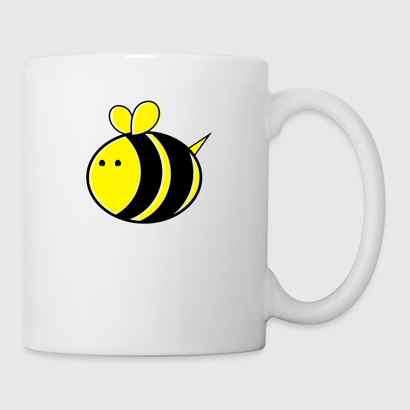 super big cute bumble bee - Mug