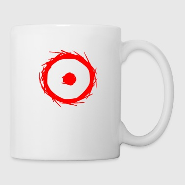 Philosopher Alchemy symbol sun (gold) red - Mug