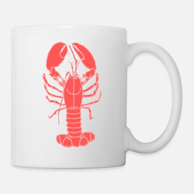Red red lobster - Mug
