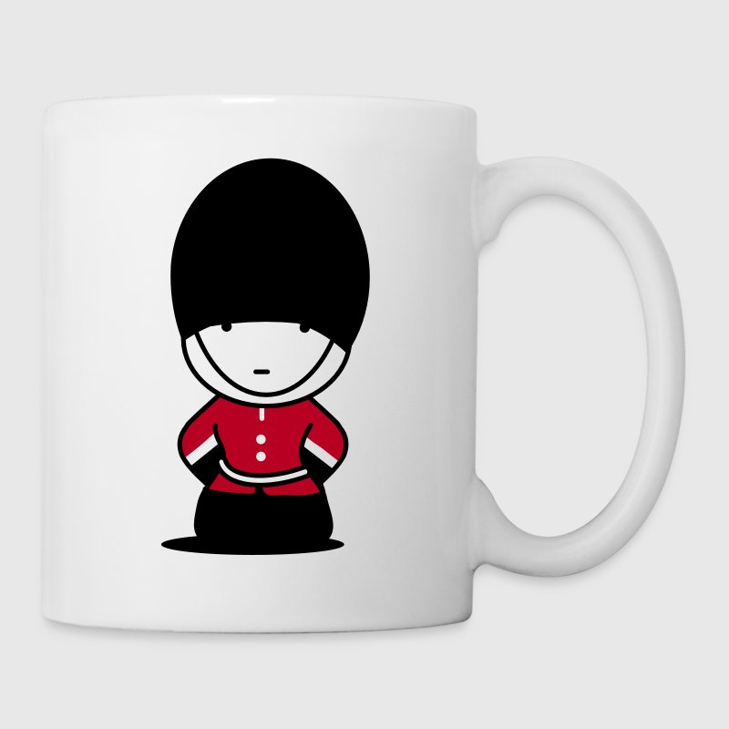 A Royal Guard in London - Mug