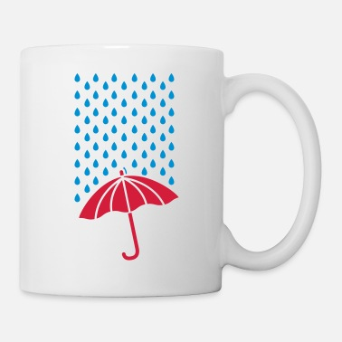 Tormenta rain_drops_design_co2 - Taza