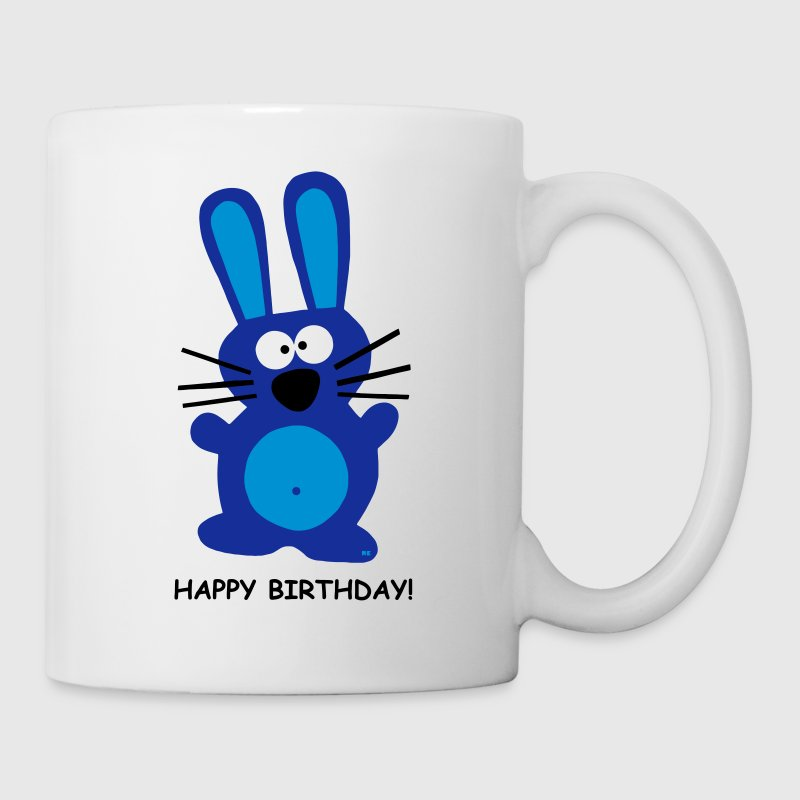 Happy Birthday Geburtstag Hase Kaninchen Party Fun - Kopp