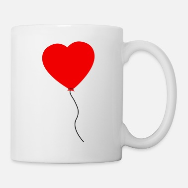 Cuore Love Heart Balloon - Taza