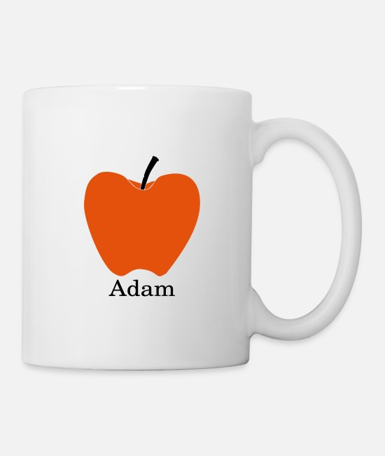 Adam Mugs & Drinkware - Adam's Apple - Mug white