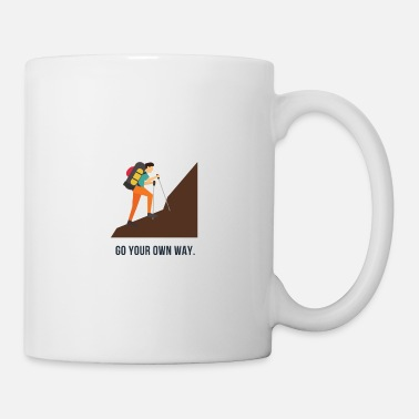 Enviromental go your own way - Mug