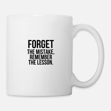 Typo Forget the mistake - Mug