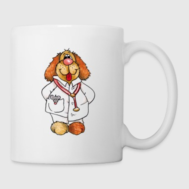 Doggy Doc - Mug blanc