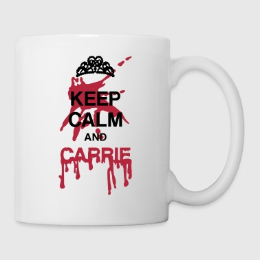 Keep calm and Carrie - Mug